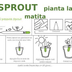 schema utilizzo MATITA SPROUT-1